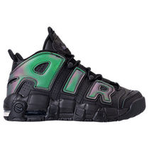 Sale!女性もOK! AIR MORE UPTEMPO GS BLACK モアテン GS