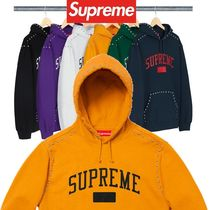 Supreme シュプリーム Studded Hooded Sweatshirt AW 18 WEEK 8