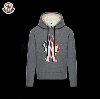 2018-19AW MONCLER  GRENOBLE コットンロゴパーカー 本店買付け