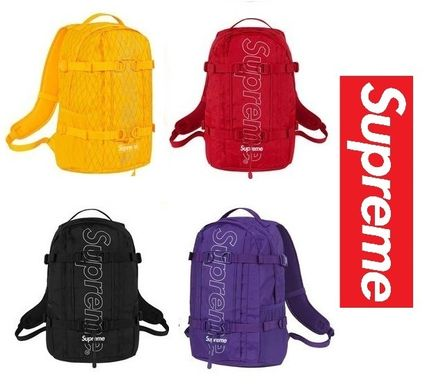 Supreme バックパック・リュック SUPREME★入手困難★リュックサックFW18★Backpack