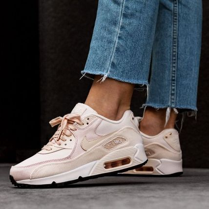 【Nike】W AIR MAX90 LEATHER★グァバアイス 921304-800