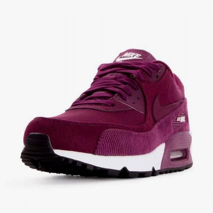 Nike スニーカー 【Nike】W AIR MAX90 LEATHER★ボルドー 921304-601(3)