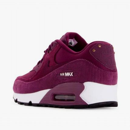 Nike スニーカー 【Nike】W AIR MAX90 LEATHER★ボルドー 921304-601(4)
