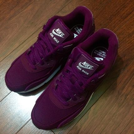 Nike スニーカー 【Nike】W AIR MAX90 LEATHER★ボルドー 921304-601(6)