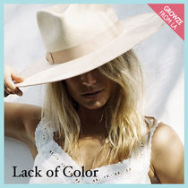 【Lack of Color】ユニセックス ウールハット Ivory Rancher