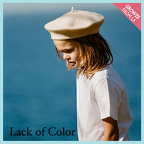 【Lack of Color】おしゃれキッズ☆ ベレー帽ハット Beret Kids