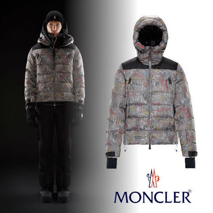 MONCLER ウィンタースポーツその他 送料関税込!MONCLER CAMURAC Paisageプリント ダウン