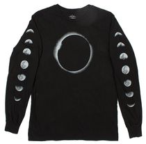 ALTRU(オールトゥルー) Tシャツ・カットソー LUNAR ECLIPSE WITH MOON PHASES LONG SLEEVE SHIRT