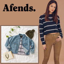 AFENDS(アフェンズ) Tシャツ・カットソー ☆AFENDS☆RevolutionロングTシャツ/麻ヘンプ
