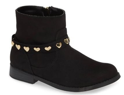 Michael Kors キッズブーツ ★大人もOK★2色展開★Emma Melo Studded Faux Leather Bootie
