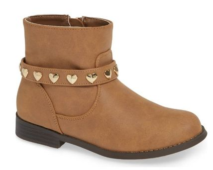 Michael Kors キッズブーツ ★大人もOK★2色展開★Emma Melo Studded Faux Leather Bootie(5)