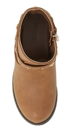 Michael Kors キッズブーツ ★大人もOK★2色展開★Emma Melo Studded Faux Leather Bootie(8)