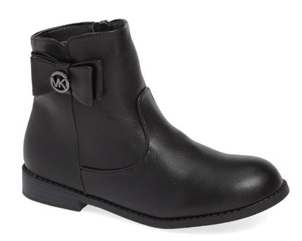 Michael Kors キッズブーツ ★大人もOK★2色展開★Emma Flow Faux Leather Bootie