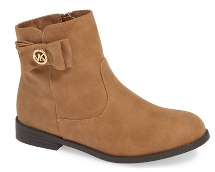 Michael Kors キッズブーツ ★大人もOK★2色展開★Emma Flow Faux Leather Bootie(5)