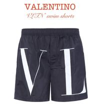 【VALENTINO】VLTN nylon swim short
