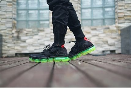 "Men's Nike Air VaporMax Flyknit Utility ""Black/Volt"""