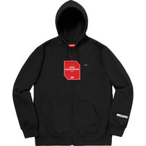8 WEEK Supreme FW 18 Windstopper Zip Up Hooded Sweatshirt