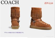 2018☆SALE☆roccasin shearling boot with beadsムートンブーツ
