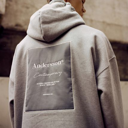 ANDERSSON BELL☆UNISEX ANDERSSON SIGNATURE PATCH HOODIE