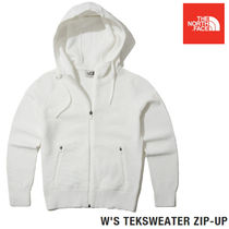 THE NORTH FACE★W'S TEKSWEATER ZIP-UP - IVORY