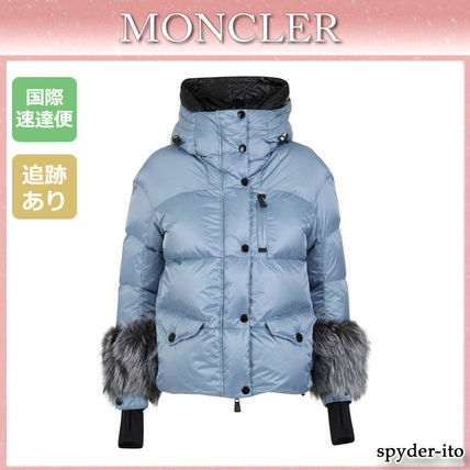 MONCLER ダウンジャケット・コート 19AW★送料込【Moncler】Limides ファーカフス ダウンジャケット