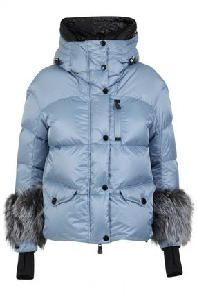 MONCLER ダウンジャケット・コート 19AW★送料込【Moncler】Limides ファーカフス ダウンジャケット(2)