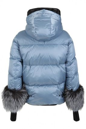MONCLER ダウンジャケット・コート 19AW★送料込【Moncler】Limides ファーカフス ダウンジャケット(4)