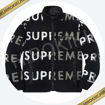 S /Mサイズ/Supreme Reversible Logo Fleece Jacket フリース 黒