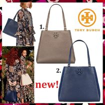 セール 今季新作 Tory Burch Mcgraw Mixed Materials Carryall