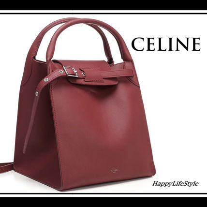 low priced 57583 910d5 お気に入り♪◇Big Bag Small レッド◇CELINE