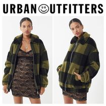 【URBAN OUTFITTERS】●日本未入荷●  Zip-Up Teddy Jacket