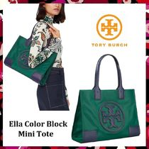 セール 新作 Tory Burch Ella Color Block Mini Tote ミニトート