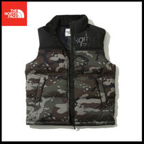 (ザノースフェイス) NOVELTY NUPTSE DOWN VEST NV1DJ54J