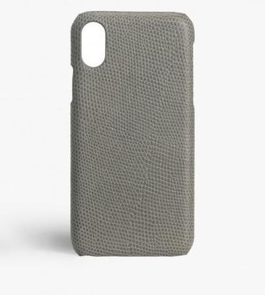THE CASE FACTORY スマホケース・テックアクセサリー 関税送料込☆THE CASEFACTORY☆IPHONE XS MAX LIZARD GREY(2)