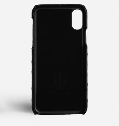 THE CASE FACTORY スマホケース・テックアクセサリー 関税送料込☆THE CASEFACTORY☆IPHONE XS MAX OSTRICH BLACK(3)