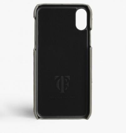 THE CASE FACTORY スマホケース・テックアクセサリー 関税送料込☆THE CASEFACTORY☆IPHONE XS MAX OSTRICH GREY(3)