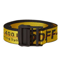 即発送 OFF WHITE 18FW INDUSTRIAL BELT