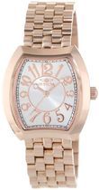 INVICTA(インヴィクタ) アナログ腕時計 Invicta Women's 15041 Angel Silver Dial 18k Rose Gold Ion-