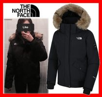 人気【THE NORTH FACE】 W 'S MCMURDO DOWN BOMBER JACKET BLACK