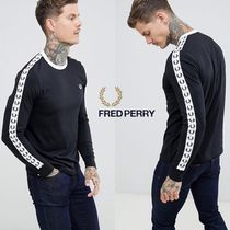 NEW*関込*FRED PERRY Sports Authentic スリーブロゴ Tシャツ BK