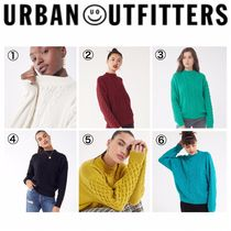 【URBAN OUTFITTERS】●日本未入荷● Cable Knit Sweater