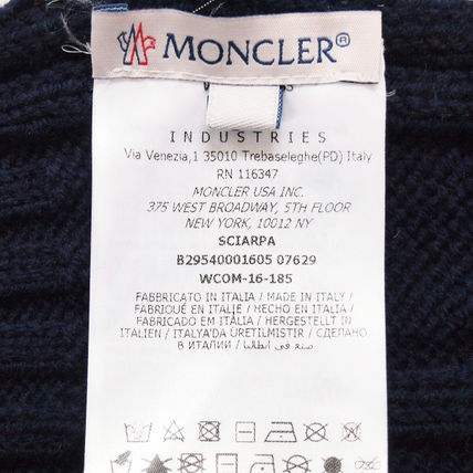 MONCLER マフラー ☆クーポン発行可☆ MONCLER 国内発送 マフラー SCIARPA(6)