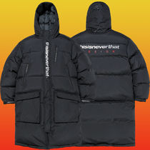 thisisneverthat 2018FW dsn-logo oversized down parka #Jacket