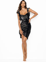 Victoria's Secret Shine Velvet Slip ベルベット ドレス