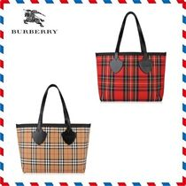 18AW新作◆Burberry◆リバーシブルヴィンテージトートバッグ