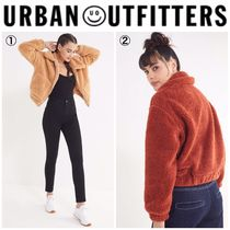 【URBAN OUTFITTERS】●日本未入荷● UO Cropped Teddy Jacket