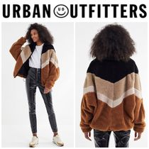 【URBAN OUTFITTERS】●日本未入荷● Zip-Front Teddy Jacket