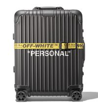 Off-White(オフホワイト) スーツケース Off-White Rimowa Personal Belongings Case Black