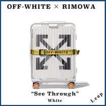 "【RIMOWA × OFF-WHITE】入手困難 ☆ ""See Through"" White"