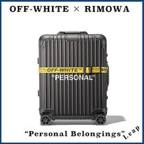 "【RIMOWA × OFF-WHITE】入手困難 ☆ ""Personal Belongings"""